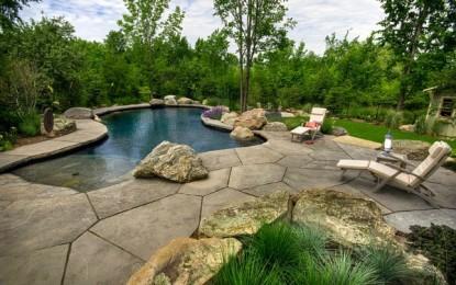 Природни базени за идилично опуштање во куќата