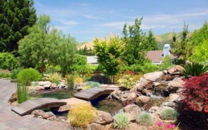 Вистинска рајска градина – направена во духот на Азија