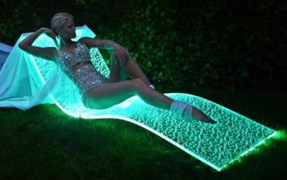 ЛЕД лежалки за вашата градина