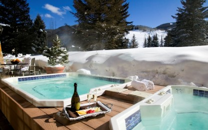 Џакузи или хидромасажен базен – екстравагантно уживање во зима