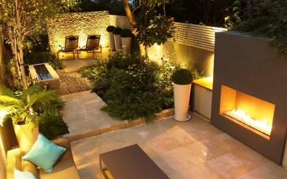 Дизајн на мал двор во Лондон