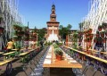 Урбана градина на тркала во Милано