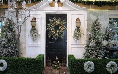 Најубави божиќни украси за вашата градина