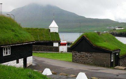 Бајковити зелени кровови во Норвешка