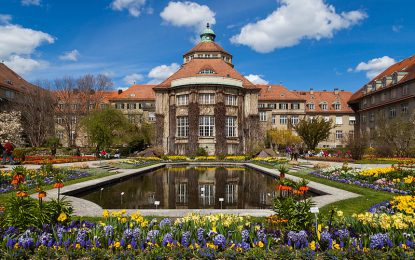 Ботаничка градина во Минхен: Спој на елеганција и дизајн