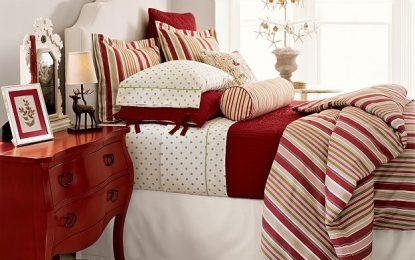 13 идеи за божиќна атмосфера во спалната соба