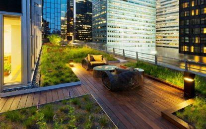 Како се проектираат и изведуваат зелени кровови или кровни градини?